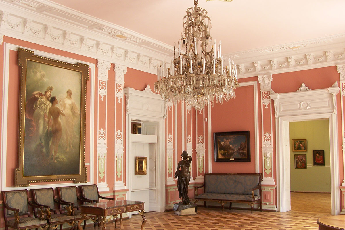Interiors of the Gallery of Art in Lviv