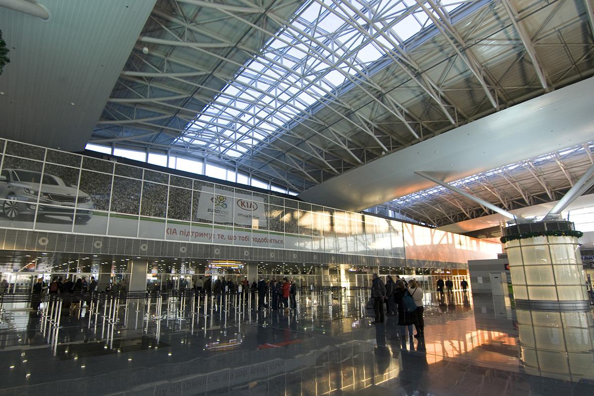 Boryspil International Airport. Terminal D